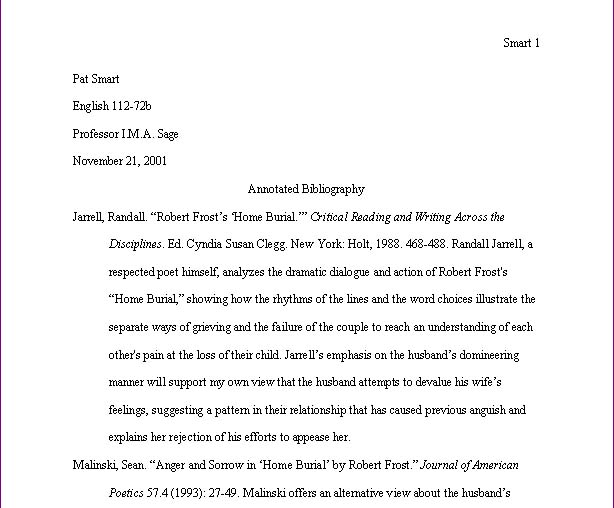 Work cited essay